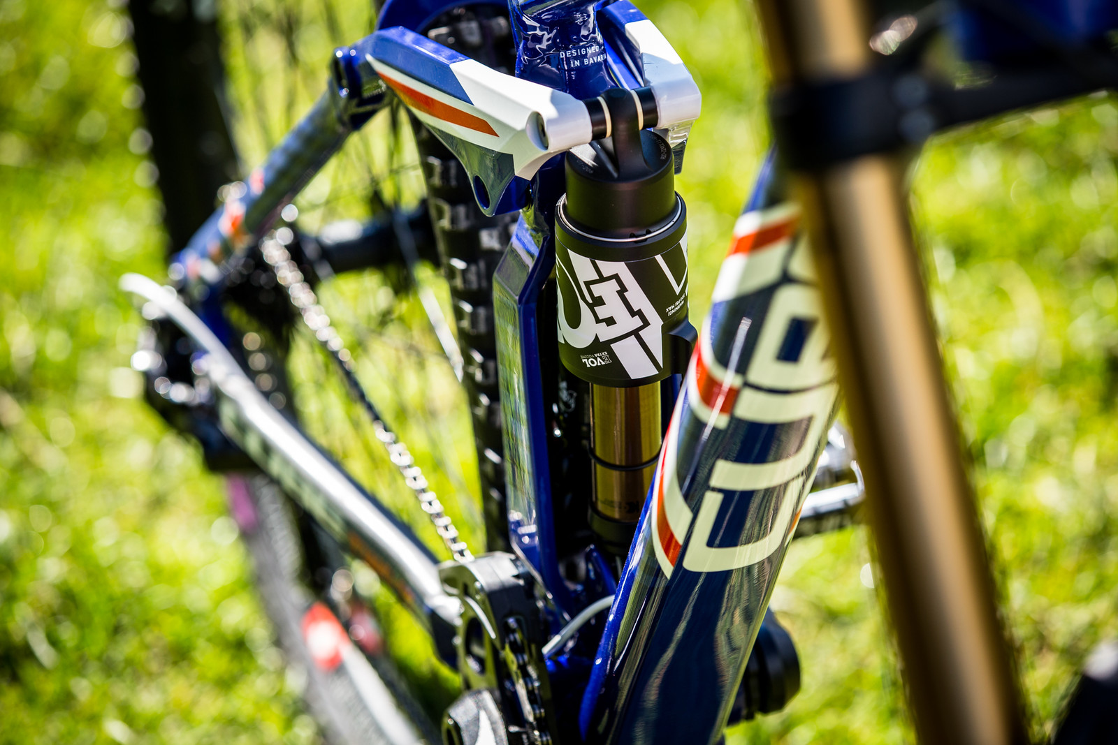 On Point - WORLD CHAMPS BIKES - Matt Walker and Max Hartenstern's Cubes - Mountain Biking Pictures - Vital MTB