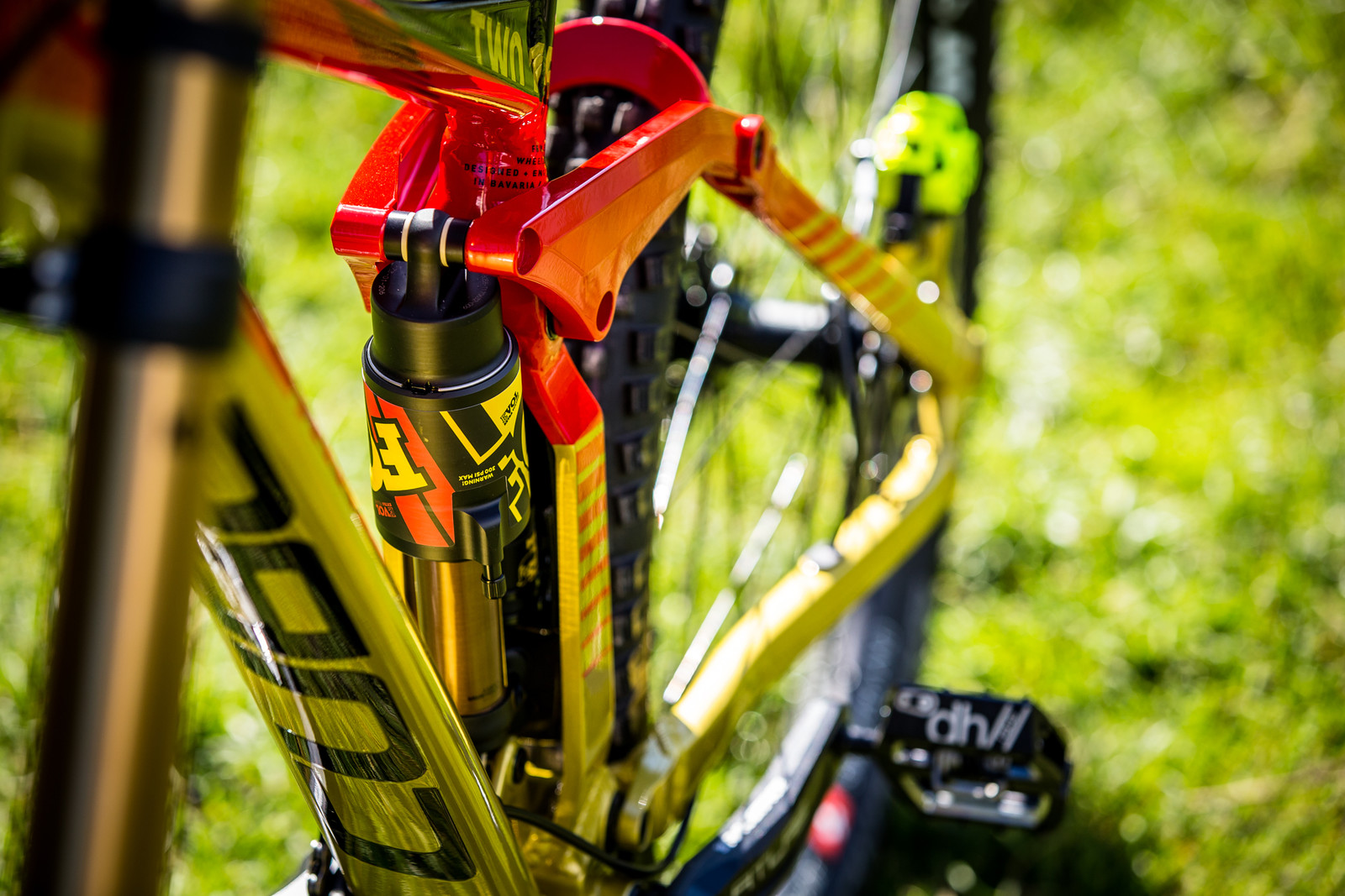Poppin' - WORLD CHAMPS BIKES - Matt Walker and Max Hartenstern's Cubes - Mountain Biking Pictures - Vital MTB