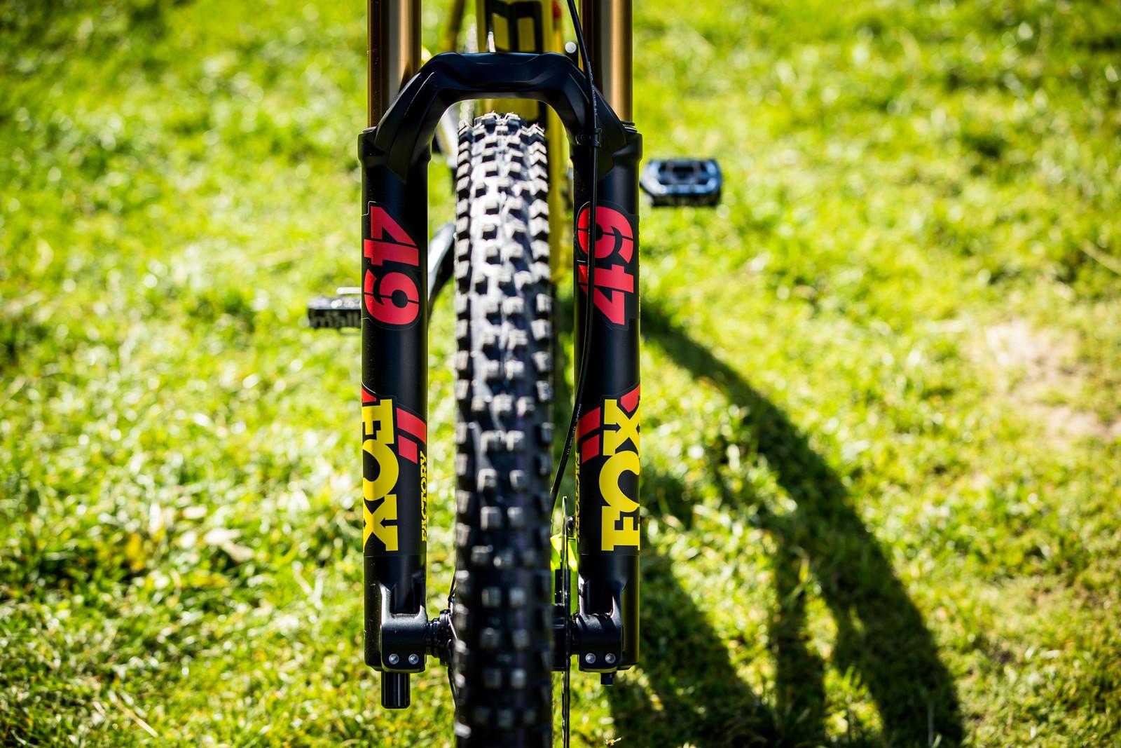 FOX 49 - WORLD CHAMPS BIKES - Matt Walker and Max Hartenstern's Cubes - Mountain Biking Pictures - Vital MTB
