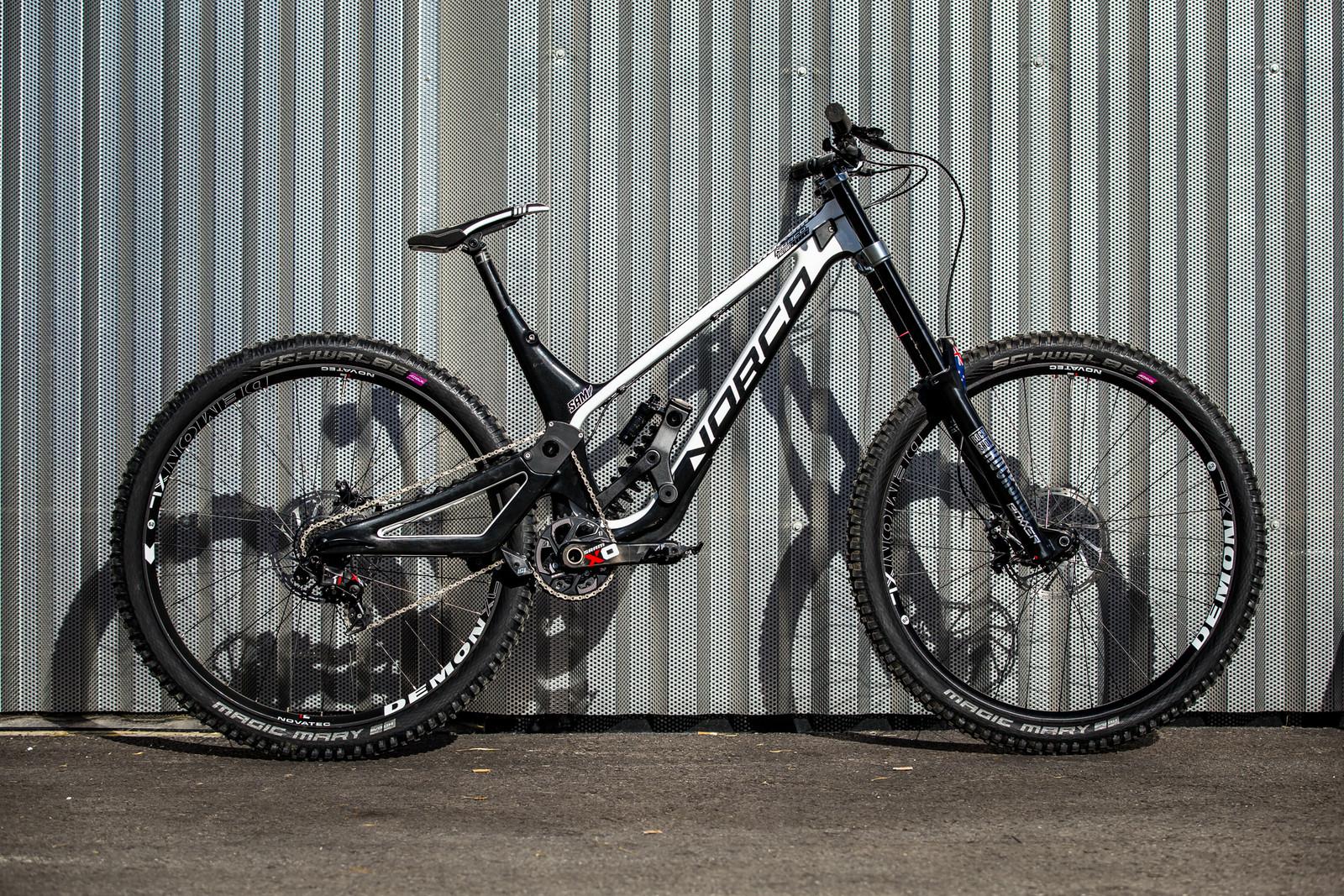 WORLD CHAMPS BIKE - Sam Blenkinsop's Norco Aurum HSP - WORLD CHAMPS BIKES - Sam Blenkinsop and Henry Fitzgerald's Norco Aurum HSP's - Mountain Biking Pictures - Vital MTB
