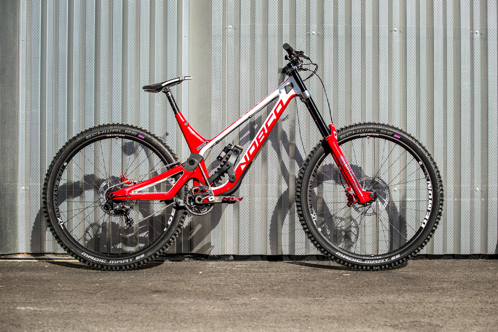 WORLD CHAMPS BIKE - Henry Fitzgerald's Norco Aurum HSP - WORLD CHAMPS BIKES - Sam Blenkinsop and Henry Fitzgerald's Norco Aurum HSP's - Mountain Biking Pictures - Vital MTB