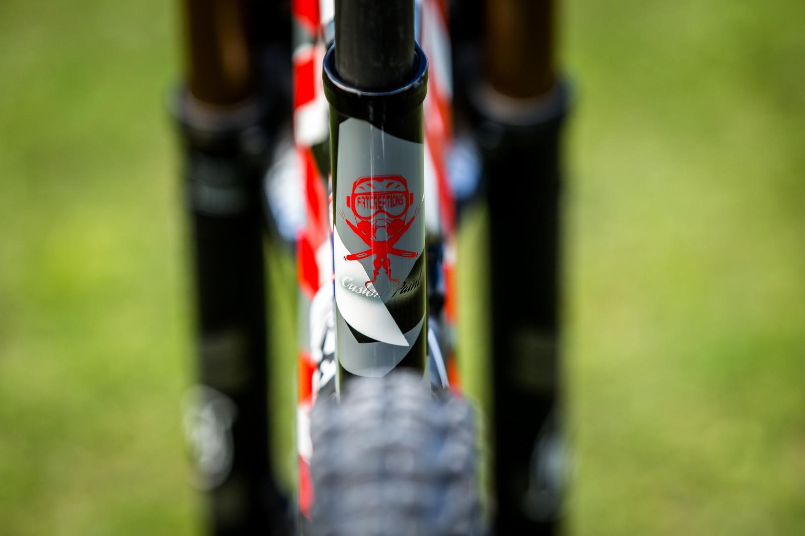 Fat Creations - WORLD CHAMPS BIKE - Eddie Masters' Pivot Phoenix - Mountain Biking Pictures - Vital MTB