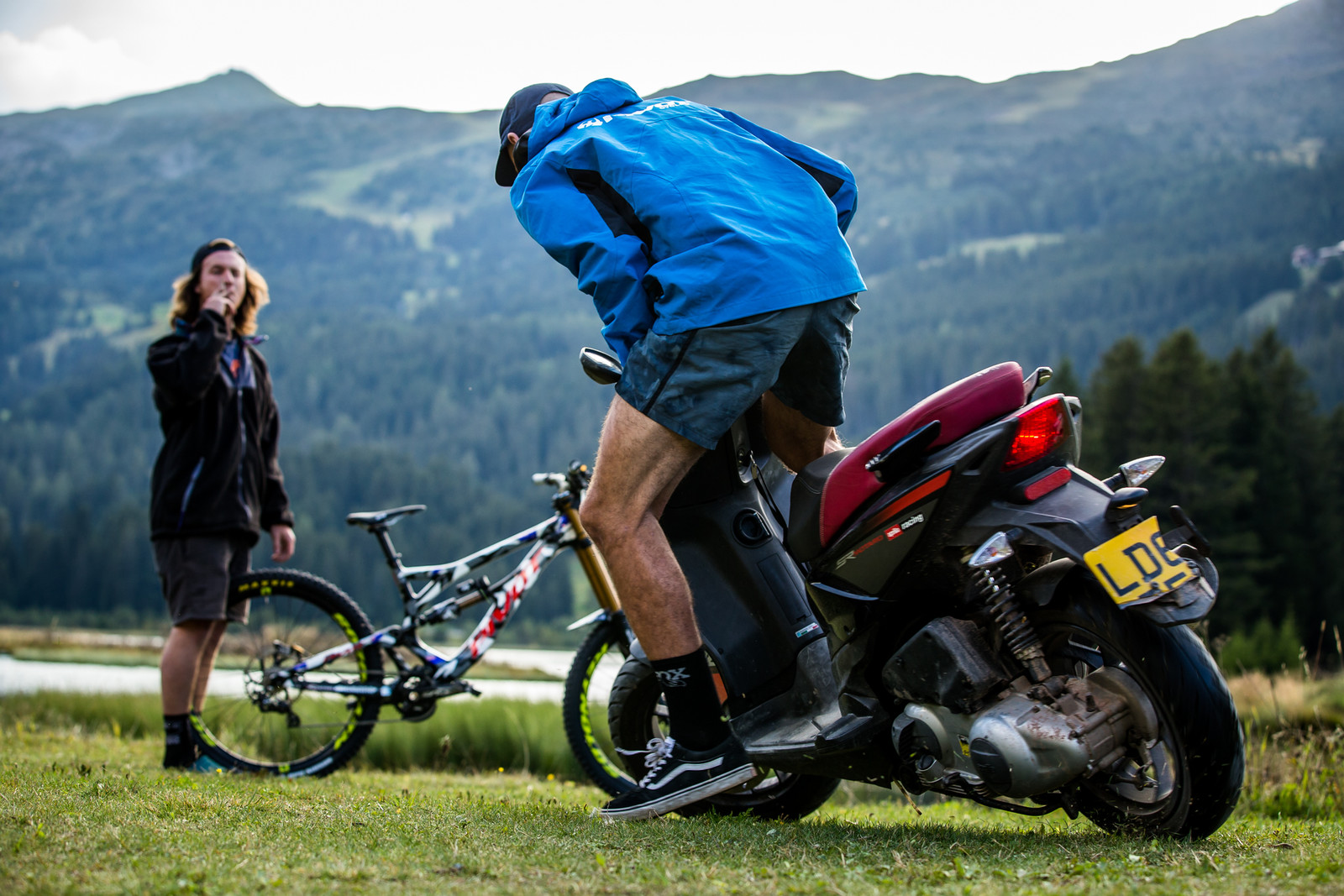Hooligan - WORLD CHAMPS BIKE - Eddie Masters' Pivot Phoenix - Mountain Biking Pictures - Vital MTB