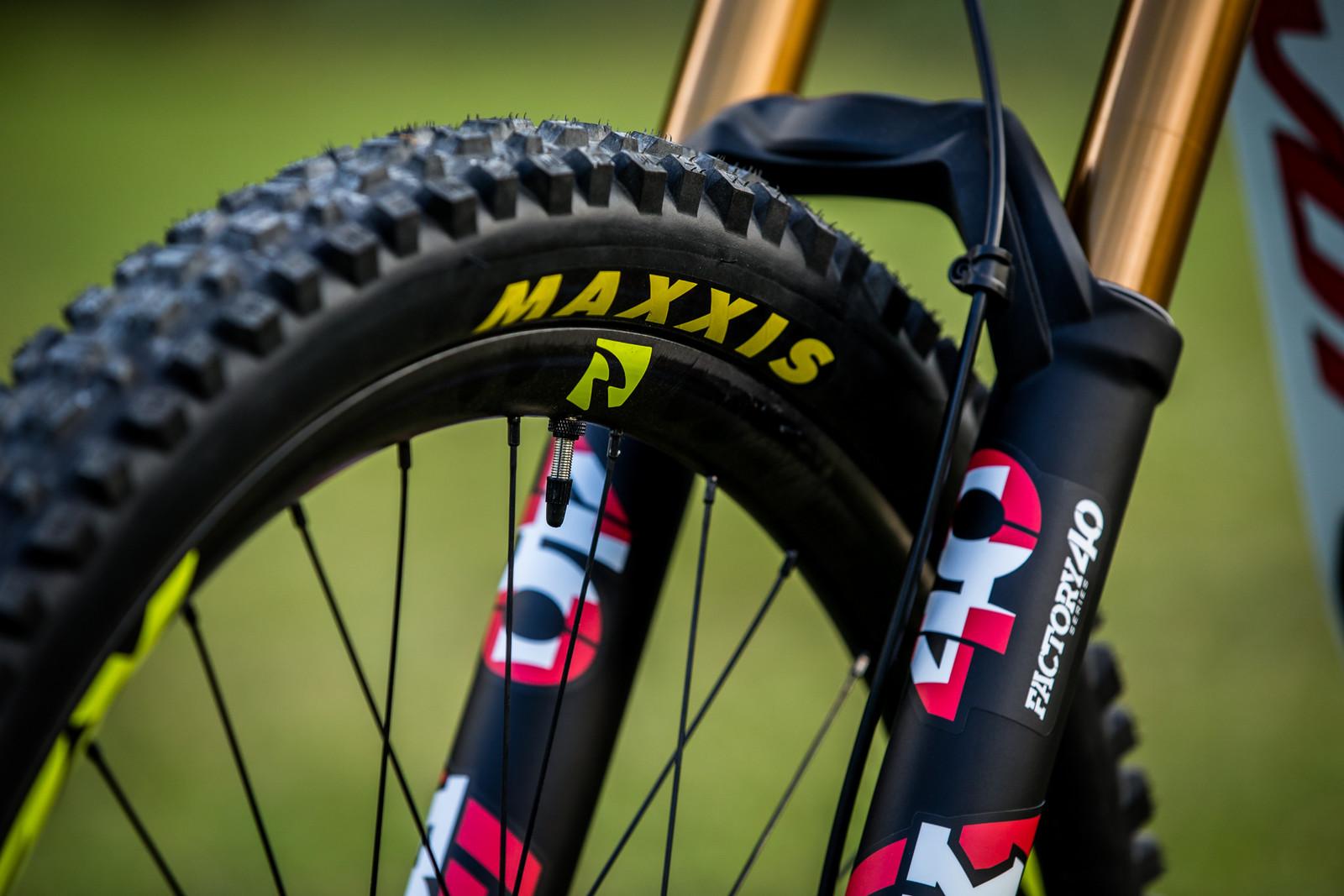Maxxis and Reynolds - WORLD CHAMPS BIKE - Emilie Siegenthaler's Pivot Phoenix - Mountain Biking Pictures - Vital MTB