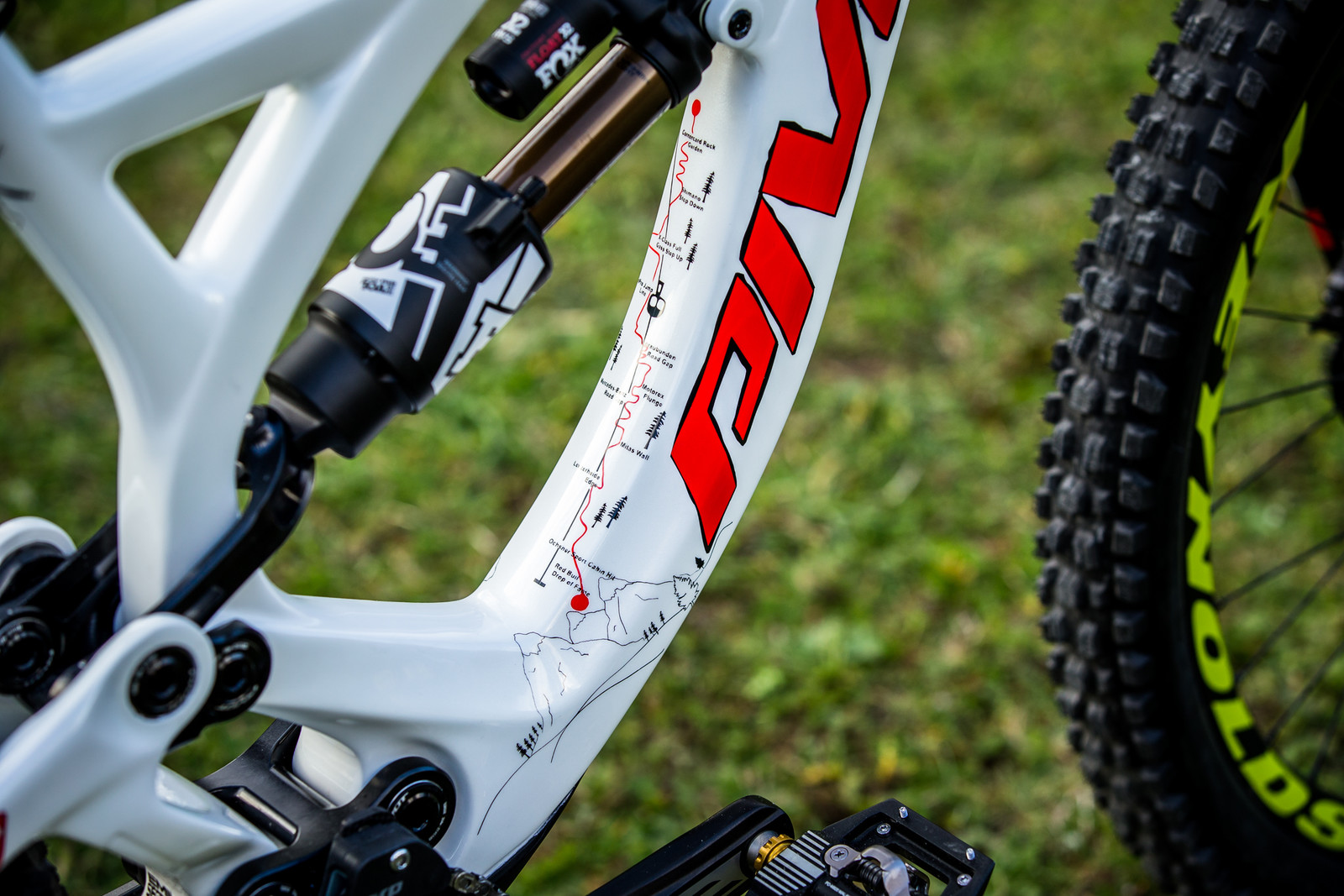 Super Rad Concept! - WORLD CHAMPS BIKE - Emilie Siegenthaler's Pivot Phoenix - Mountain Biking Pictures - Vital MTB