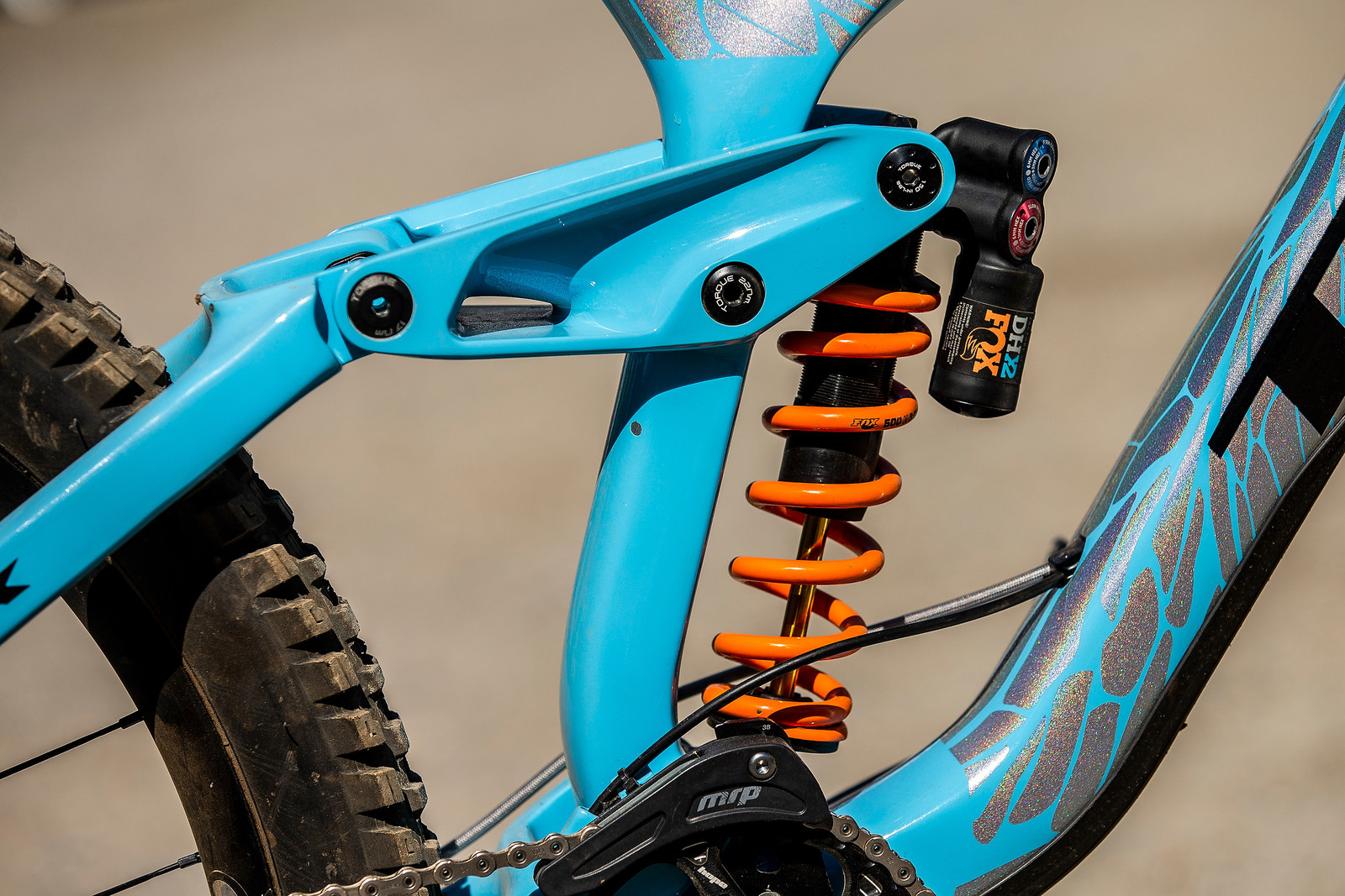 FOX DHX2 Coil Shock - WINNING BIKE - Rachel Atherton's Trek Session - Mountain Biking Pictures - Vital MTB