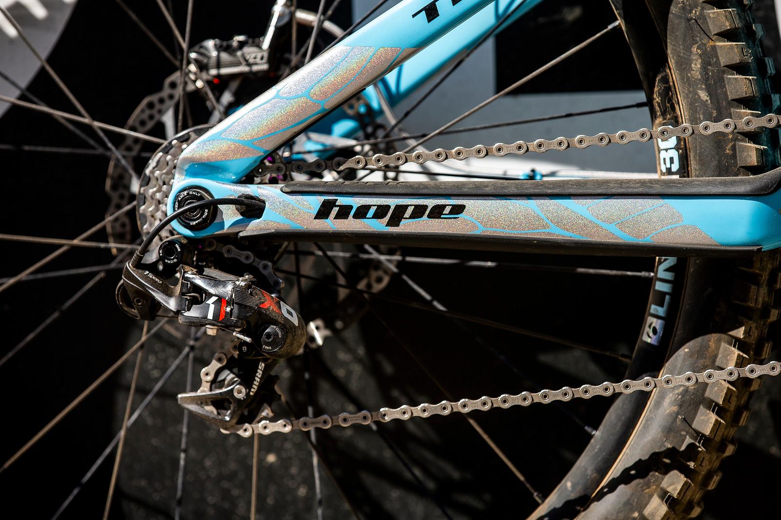 SRAM X0 DH Drivetrain - WINNING BIKE - Rachel Atherton's Trek Session - Mountain Biking Pictures - Vital MTB
