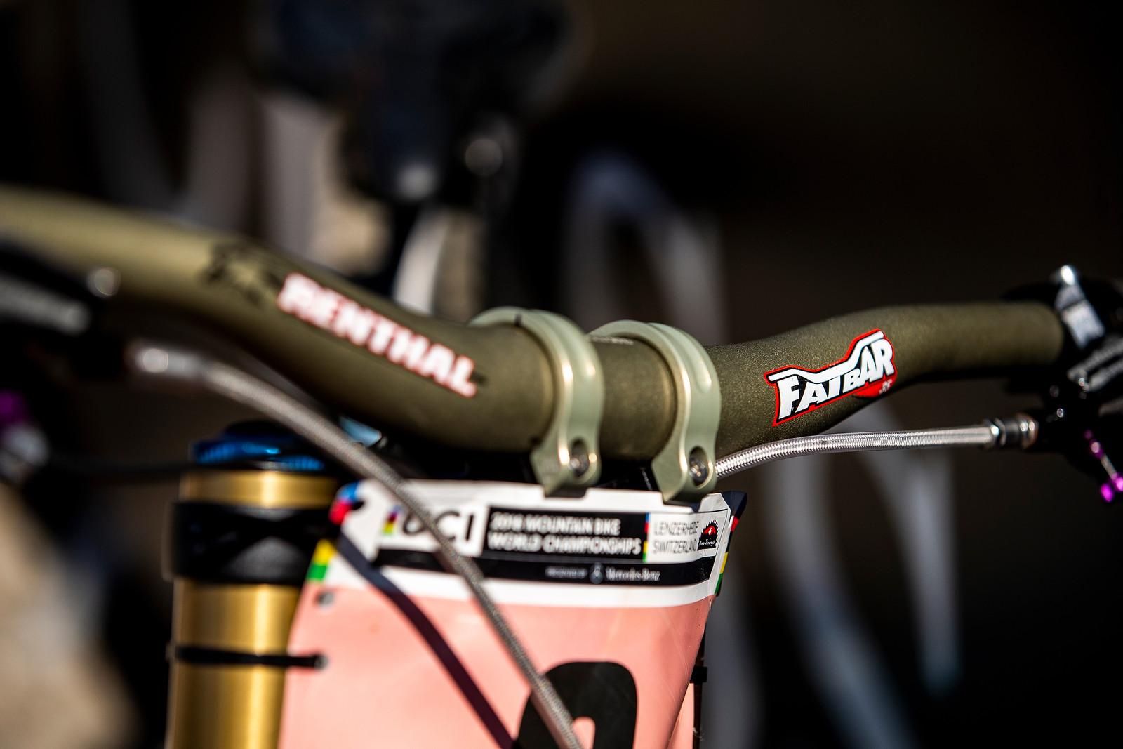 Renthal Cockpit - WINNING BIKE - Rachel Atherton's Trek Session - Mountain Biking Pictures - Vital MTB