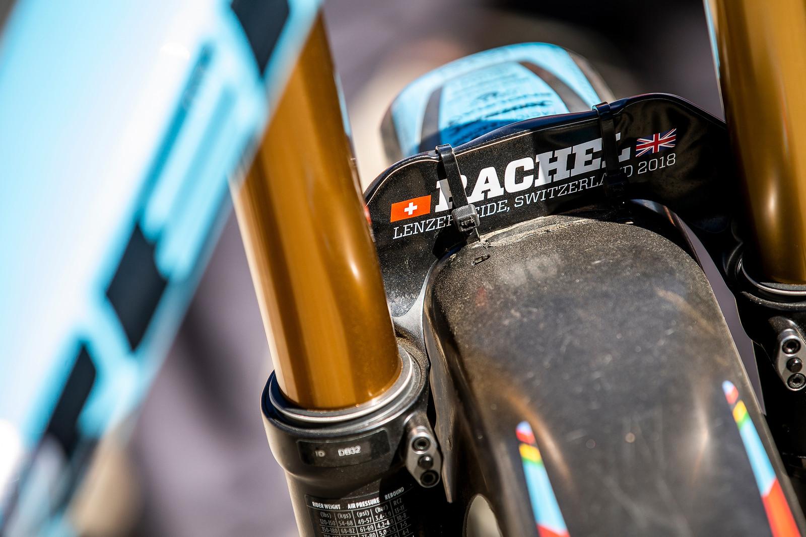 Winning Doesn't Ache at All - WINNING BIKE - Rachel Atherton's Trek Session - Mountain Biking Pictures - Vital MTB