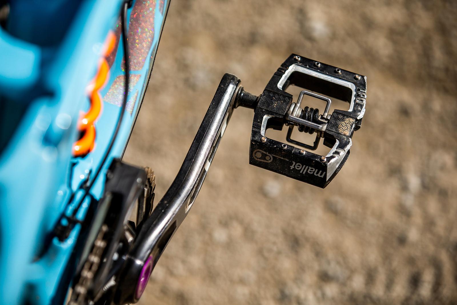 Crank Brothers Mallet DH Pedals - WINNING BIKE - Rachel Atherton's Trek Session - Mountain Biking Pictures - Vital MTB