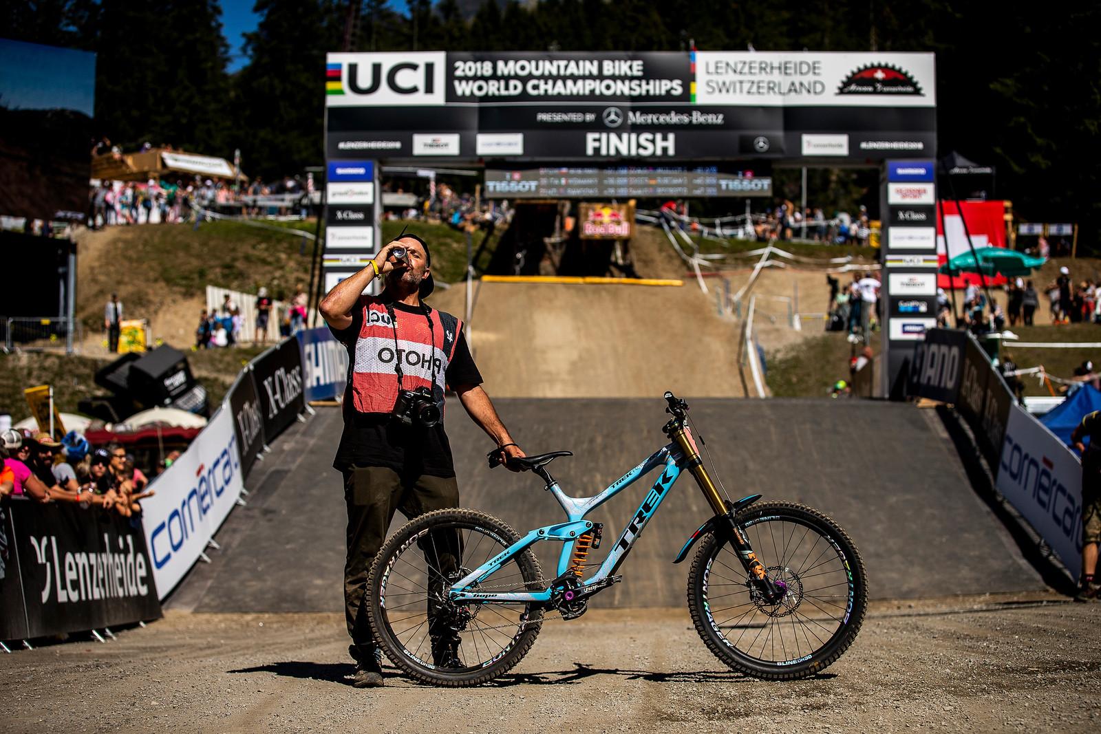 Sven Wishes It Was His - WINNING BIKE - Rachel Atherton's Trek Session - Mountain Biking Pictures - Vital MTB