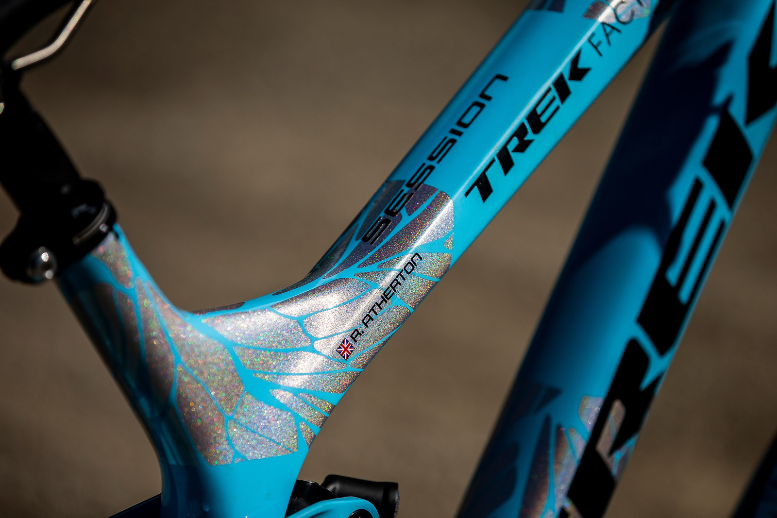That Dialed Paint Job - WINNING BIKE - Rachel Atherton's Trek Session - Mountain Biking Pictures - Vital MTB