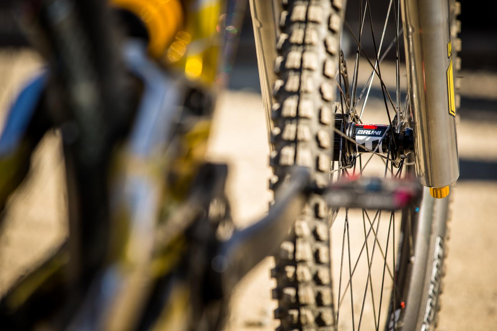 DT Swiss 240s Hubs - WINNING BIKE - Loic Bruni's Specialized Demo - Mountain Biking Pictures - Vital MTB