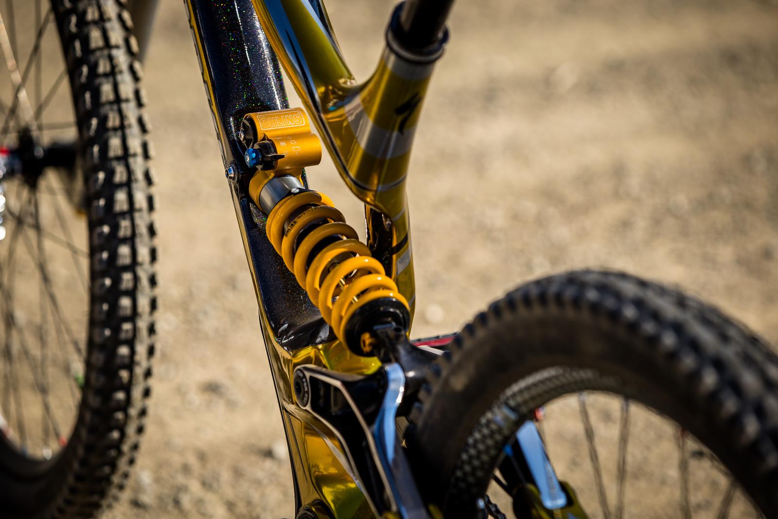 Ohlins TTX Shock - WINNING BIKE - Loic Bruni's Specialized Demo - Mountain Biking Pictures - Vital MTB