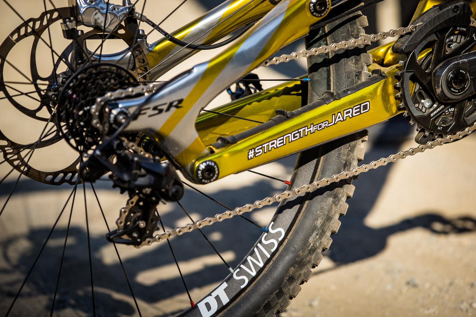 #strengthforjared - WINNING BIKE - Loic Bruni's Specialized Demo - Mountain Biking Pictures - Vital MTB