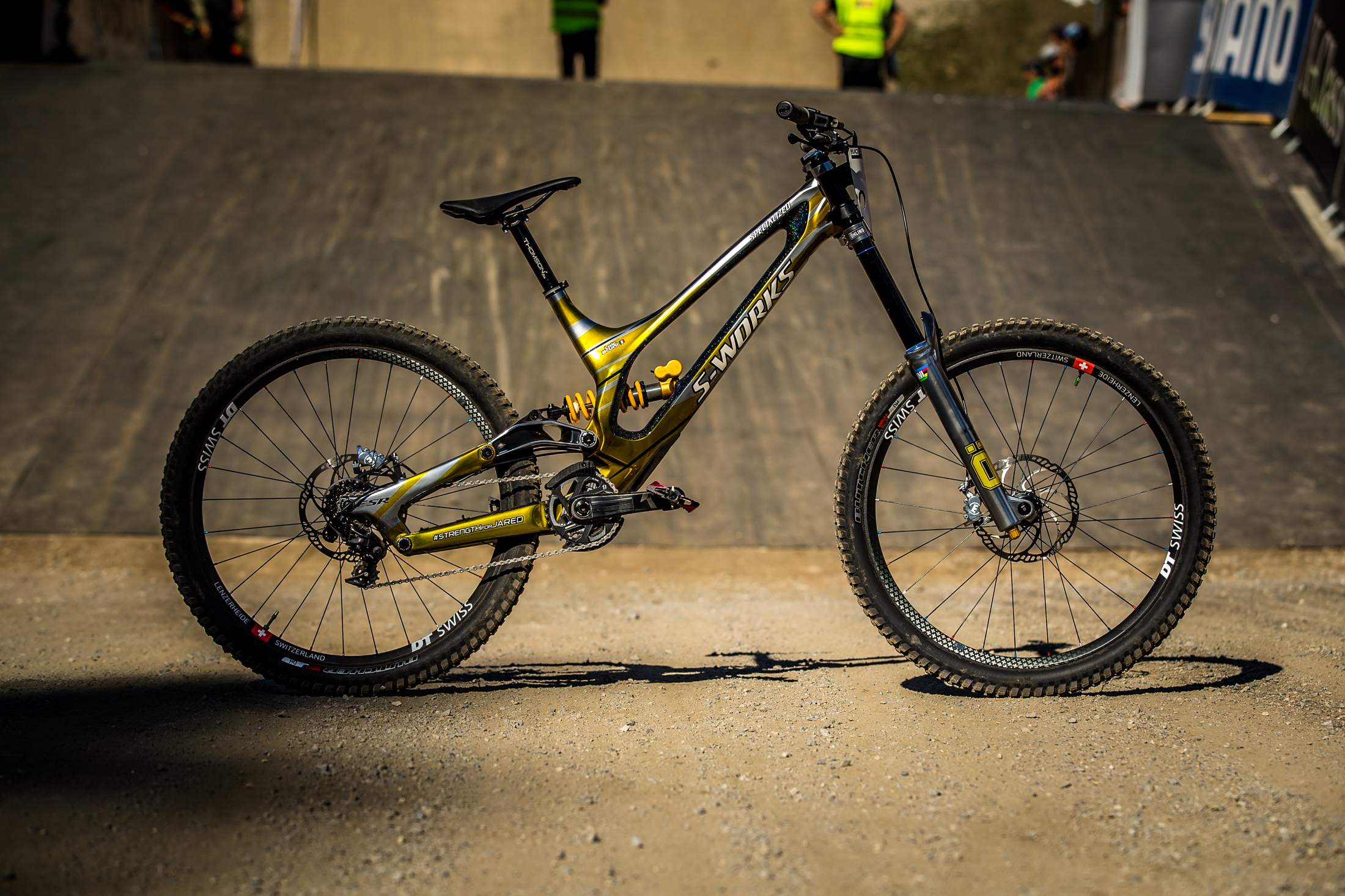 Winning Bike And Exclusive Interview Loic Bruni And His
