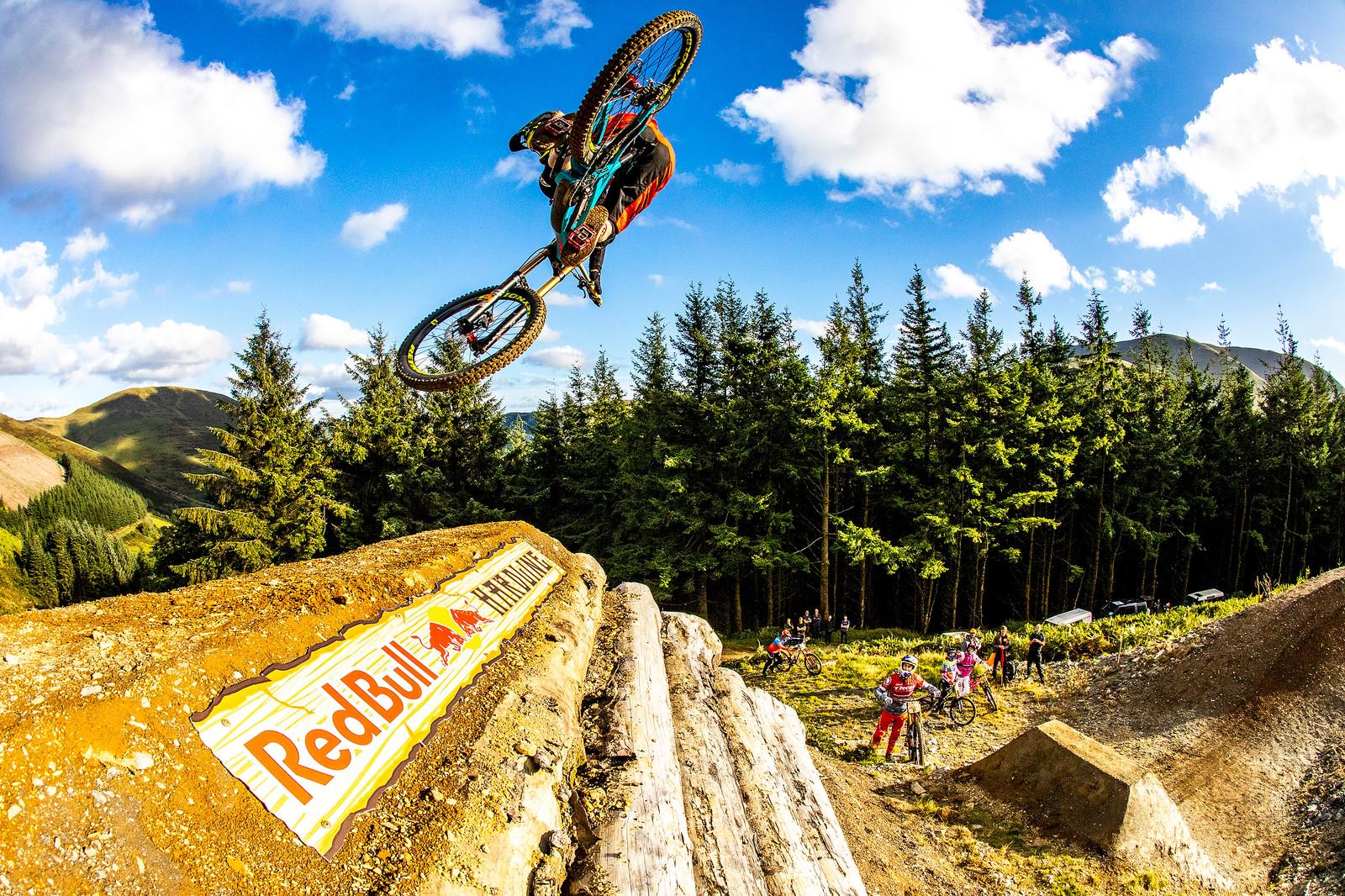 Bernie - BIG AIR PHOTO BLAST - RED BULL HARDLINE - Mountain Biking Pictures - Vital MTB