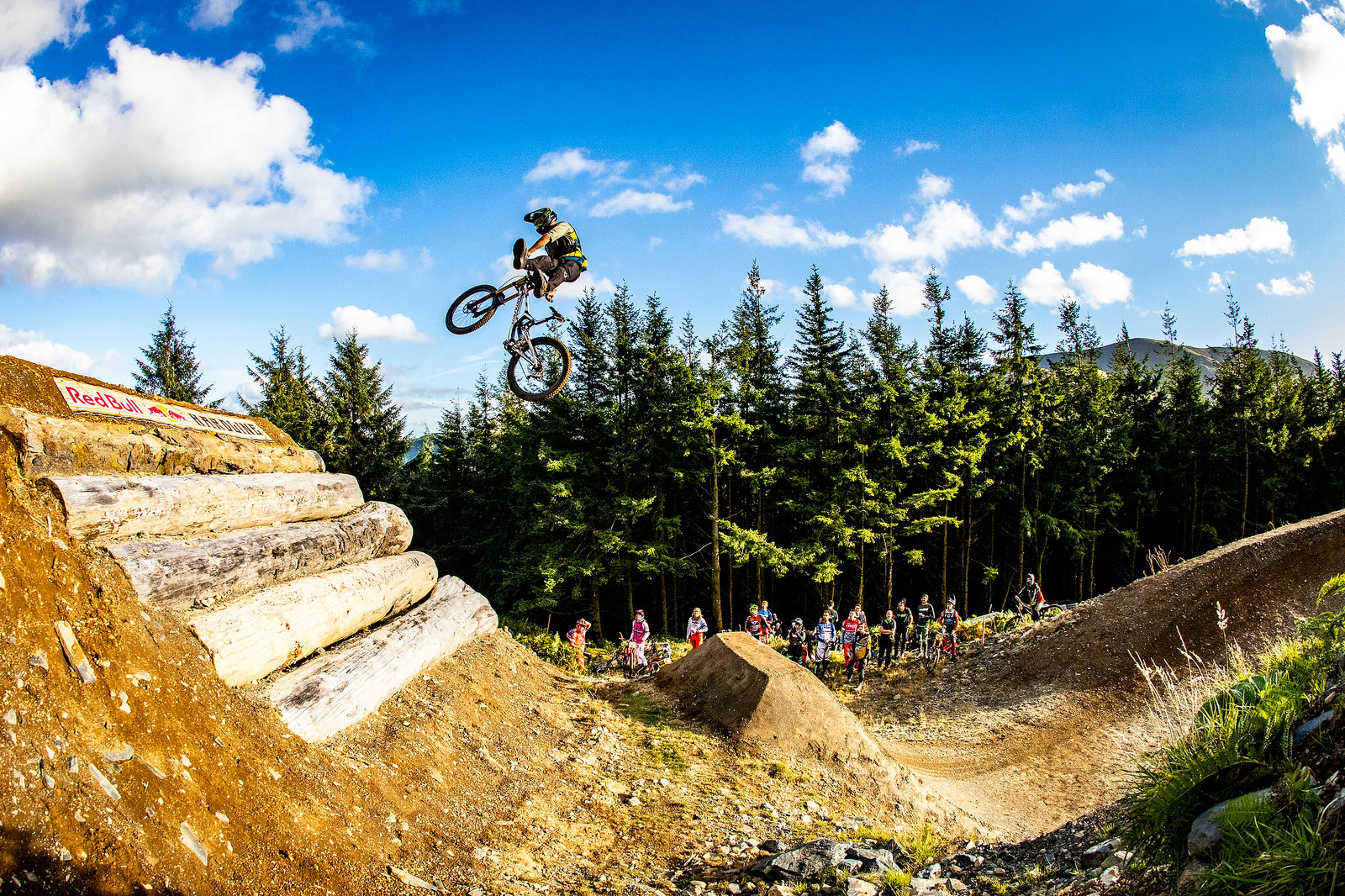 Rat Can - BIG AIR PHOTO BLAST - RED BULL HARDLINE - Mountain Biking Pictures - Vital MTB