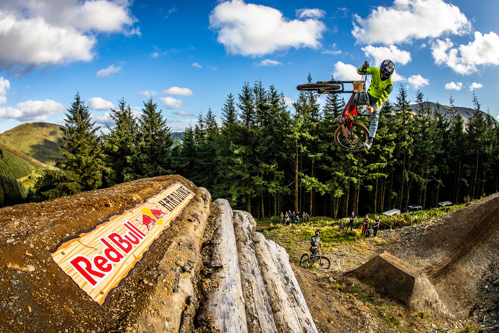 Dave The Dangler McMillan - BIG AIR PHOTO BLAST - RED BULL HARDLINE - Mountain Biking Pictures - Vital MTB