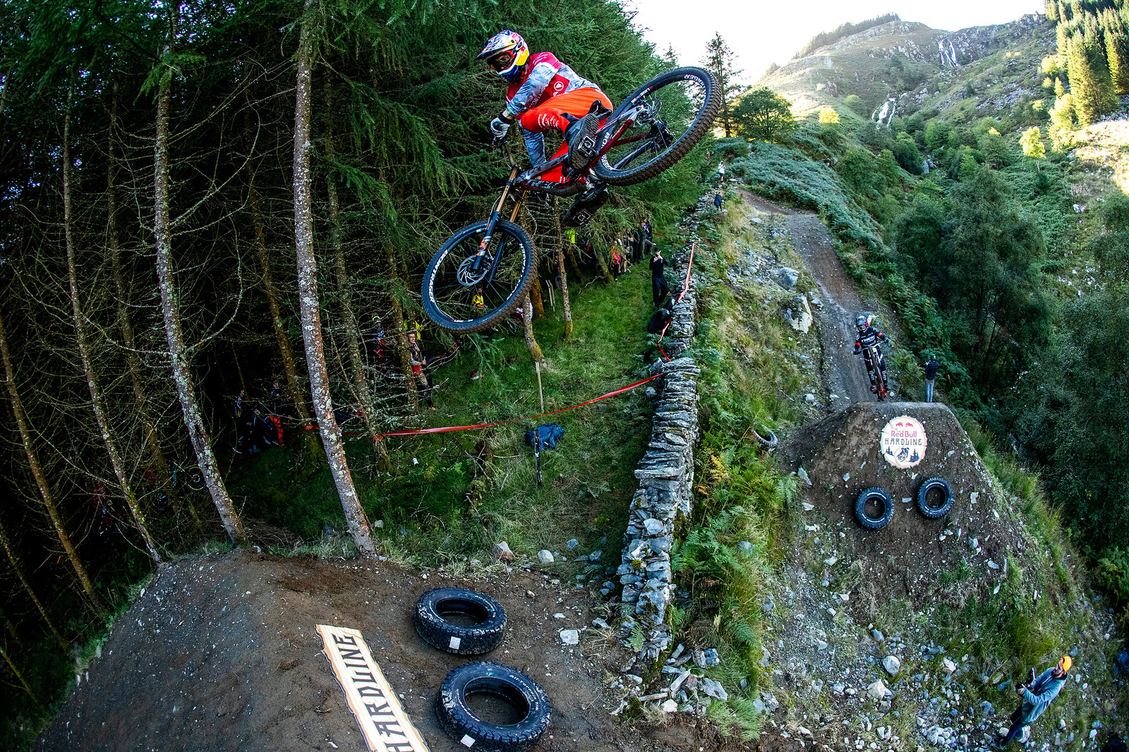 Steezy Geezy - BIG AIR PHOTO BLAST - RED BULL HARDLINE - Mountain Biking Pictures - Vital MTB