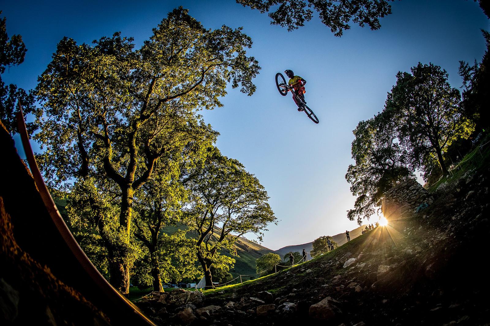 Finsh Gap Insanity - BIG AIR PHOTO BLAST - RED BULL HARDLINE - Mountain Biking Pictures - Vital MTB