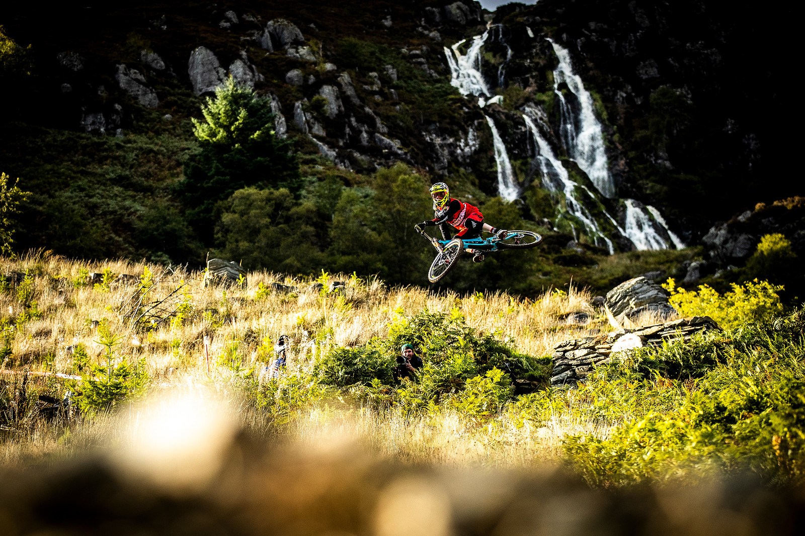 Bernie Senders - BIG AIR PHOTO BLAST - RED BULL HARDLINE - Mountain Biking Pictures - Vital MTB