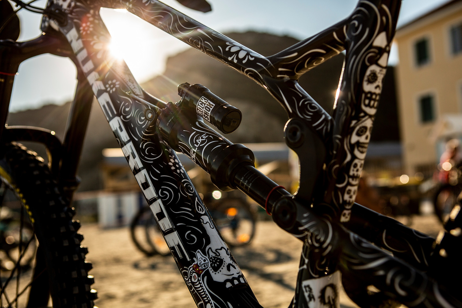 Sam's Nukeproof Mega - PIT BITS - Enduro World Series Finale - Mountain Biking Pictures - Vital MTB