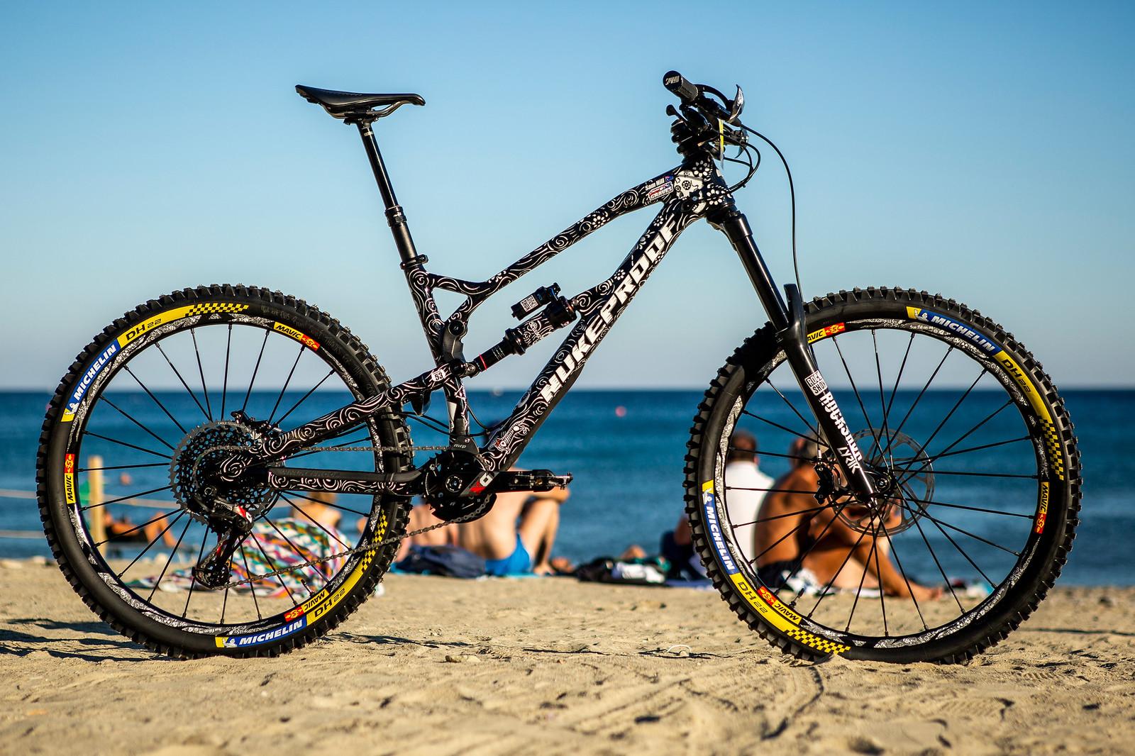 Sam's Nukeproof Mega - PIT BITS - Enduro World Series Finale - Mountain Biking Pictures - Vital MTB