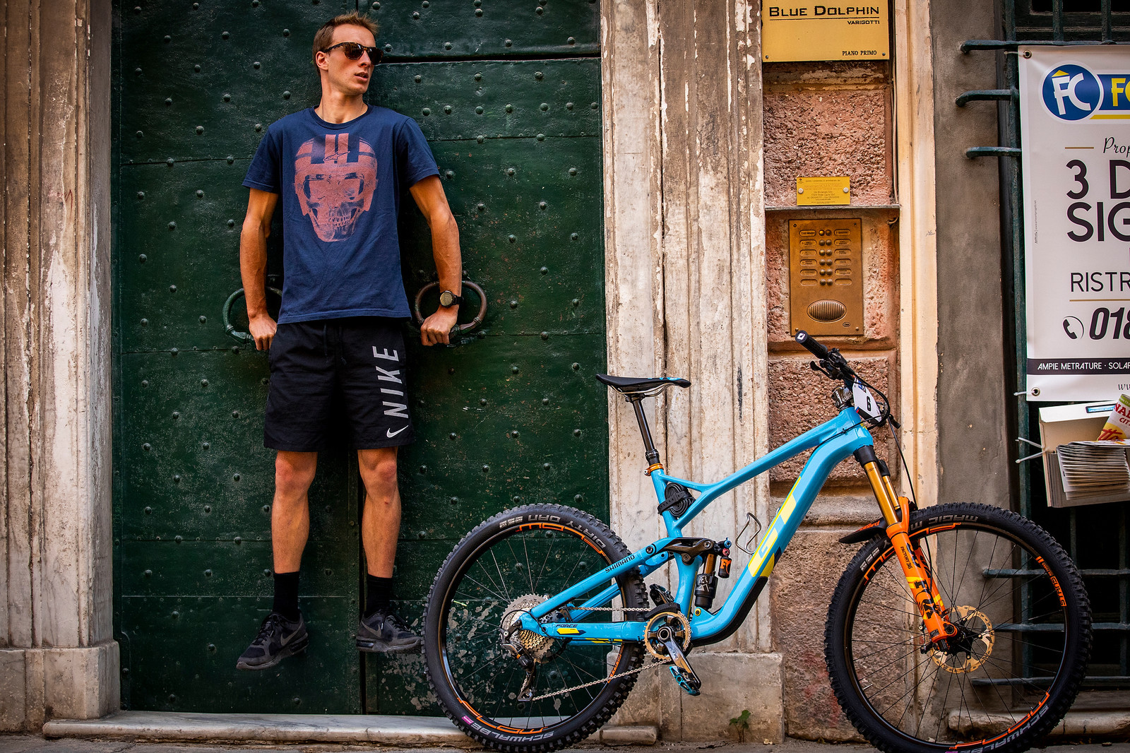 Martin Maes Is Strong - PIT BITS - Enduro World Series Finale - Mountain Biking Pictures - Vital MTB