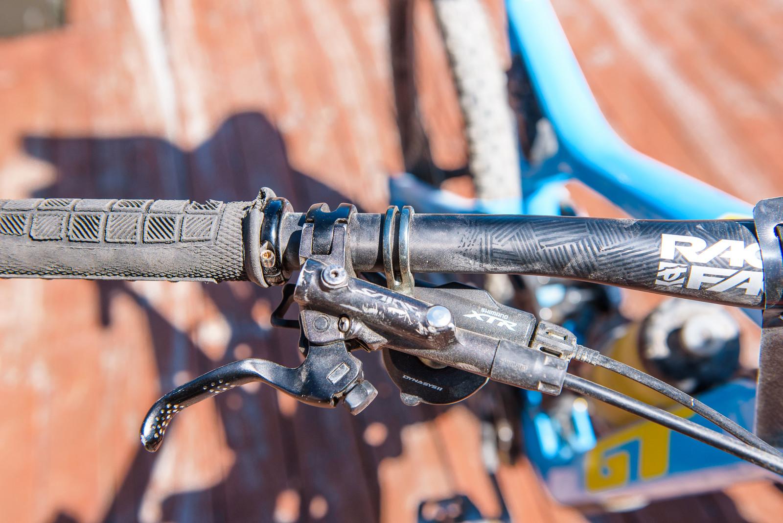 Gripped - Pro Bike - Wyn Masters' GT Force, Size XL - Mountain Biking Pictures - Vital MTB