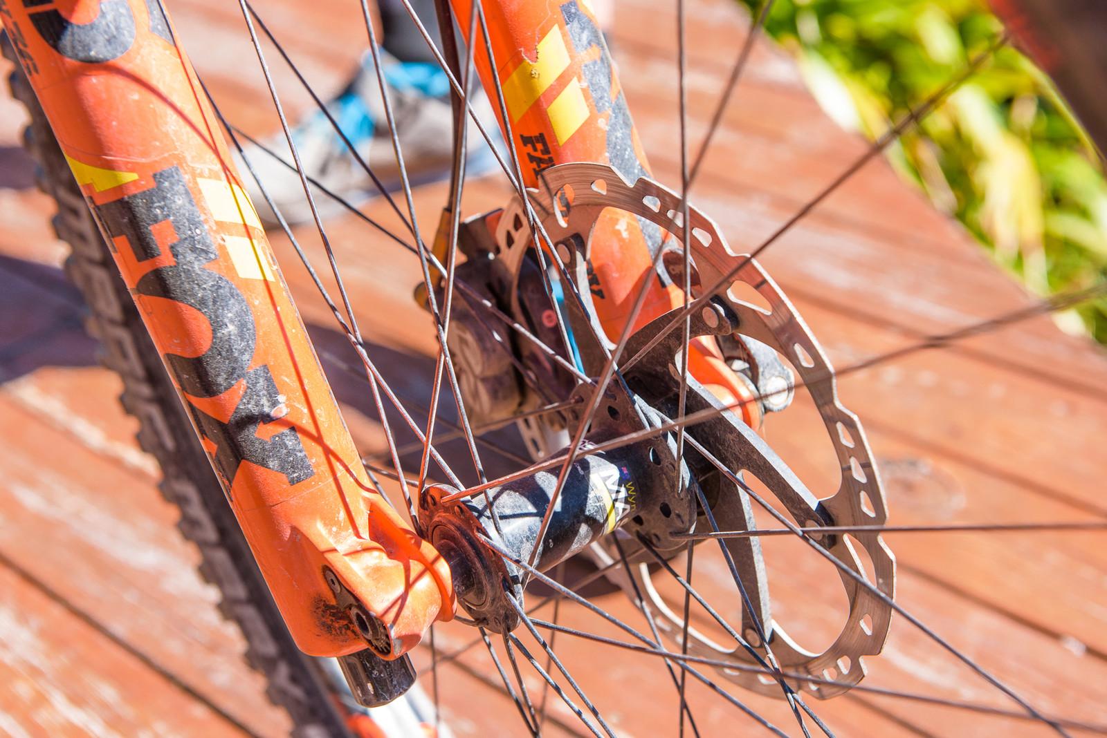 Well Loved - Pro Bike - Wyn Masters' GT Force, Size XL - Mountain Biking Pictures - Vital MTB