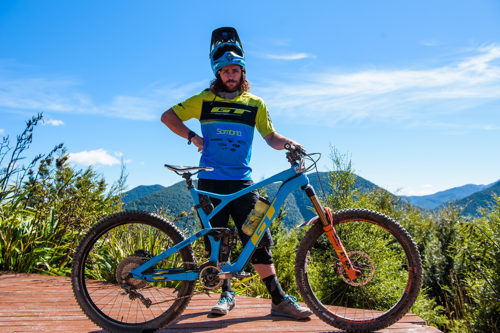 Pro Bike - Wyn Masters' GT Force, Size XL - Pro Bike - Wyn Masters' GT Force, Size XL - Mountain Biking Pictures - Vital MTB