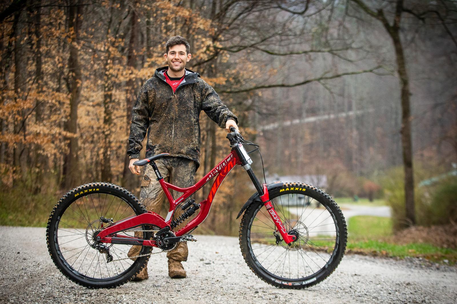What's Stock, What's Not? Dakotah Norton's Devinci Wilson 29 - What's Stock, What's Not - Windrock Pro GRT - Mountain Biking Pictures - Vital MTB