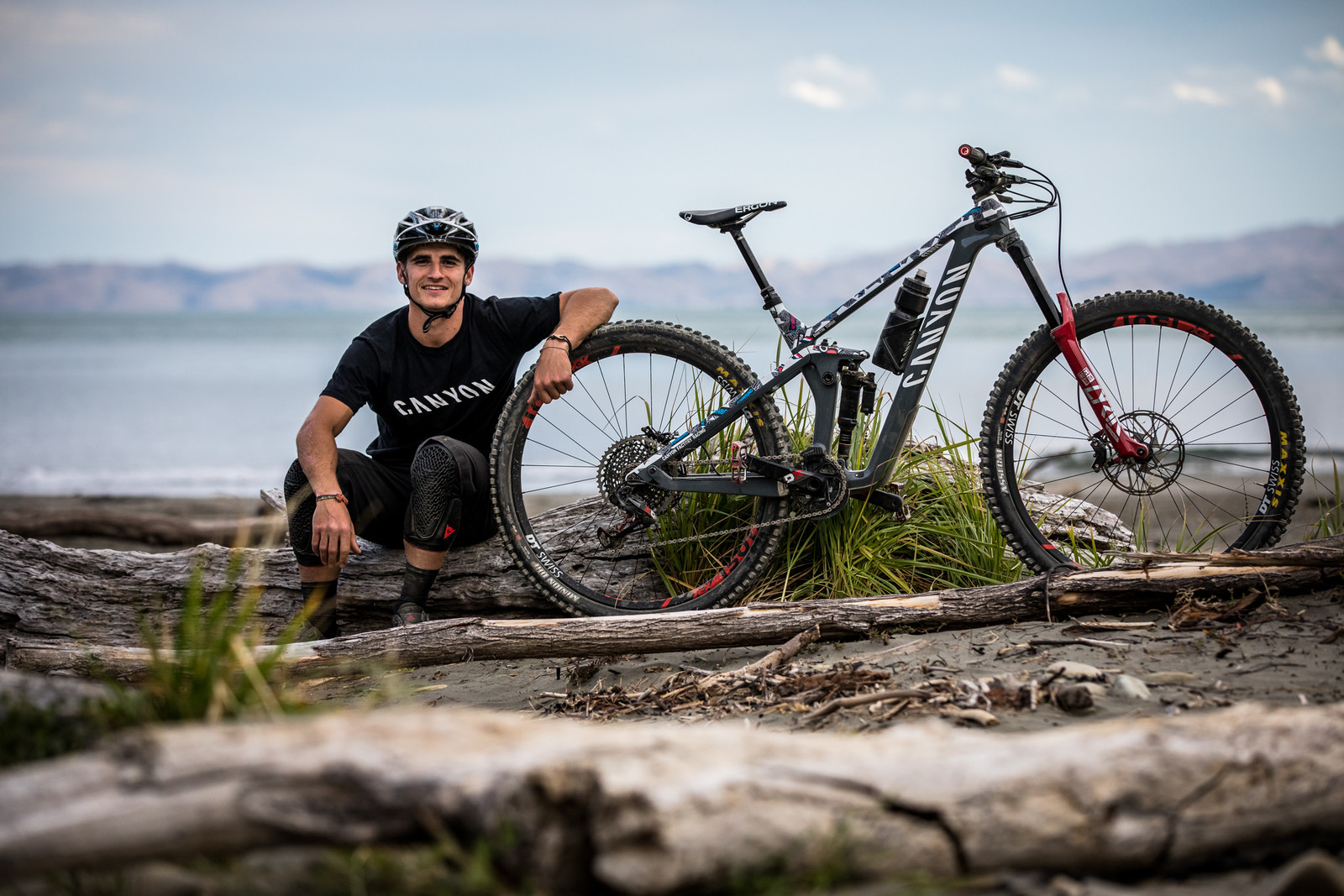 WINNING BIKE - Dimitri Tordo's Canyon Strive at NZ Enduro - 2019 WINNING BIKES - Mountain Biking Pictures - Vital MTB