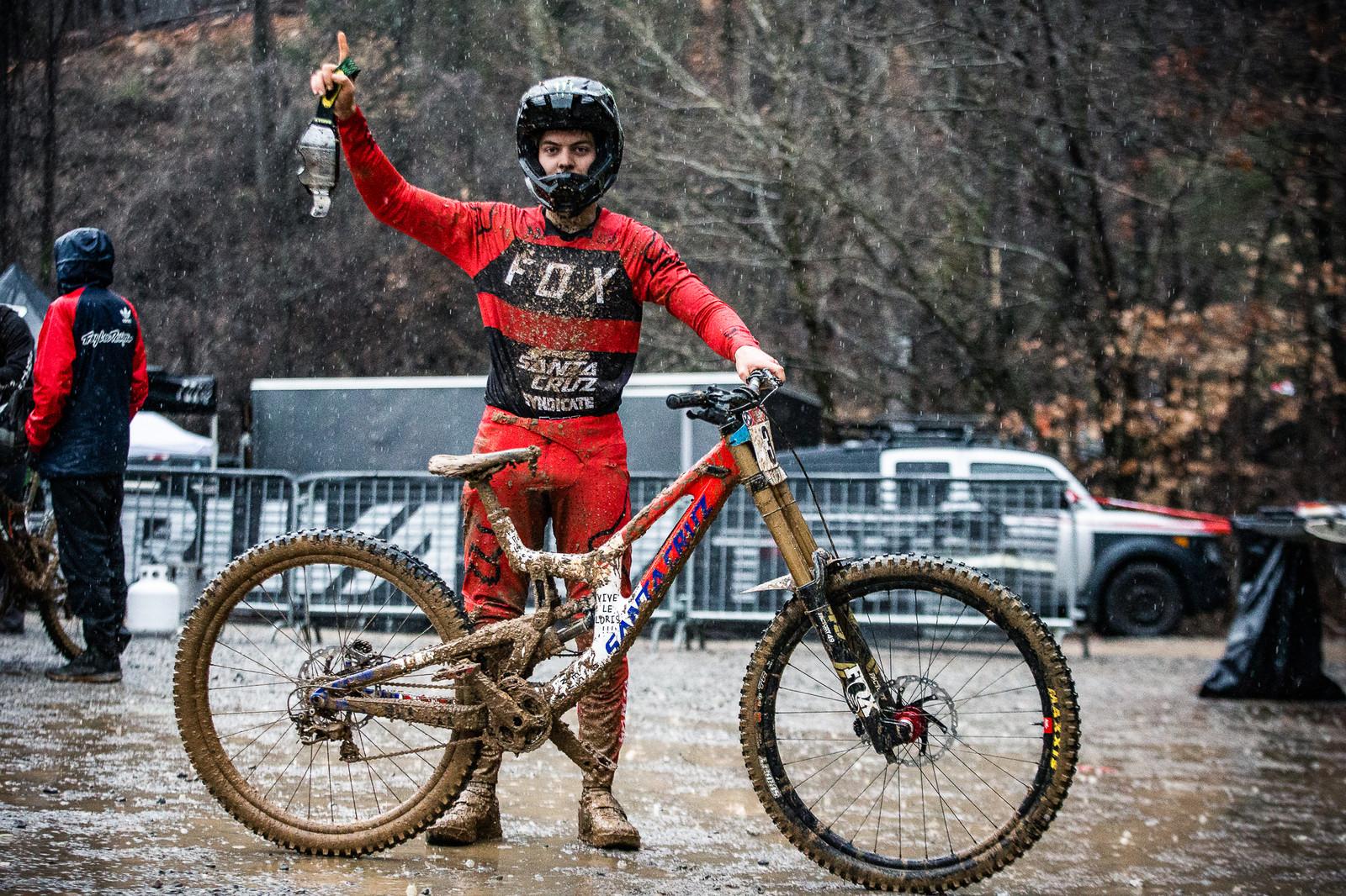 WINNING BIKE: Loris Vergier's Santa Cruz V10cc 29 from Windrock Pro GRT - 2019 WINNING BIKES - Mountain Biking Pictures - Vital MTB
