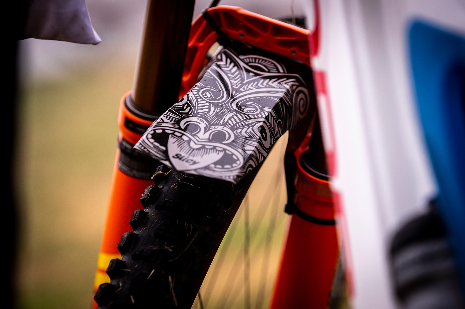 Fender Graphics - 2019 Enduro World Series Crankworx Rotorua - Mountain Biking Pictures - Vital MTB