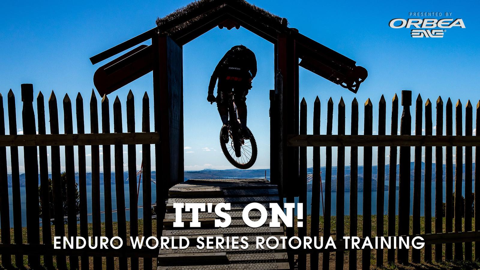 IT'S ON! 2019 Enduro World Series, Rotorua - 2019 Enduro World Series Crankworx Rotorua - Mountain Biking Pictures - Vital MTB