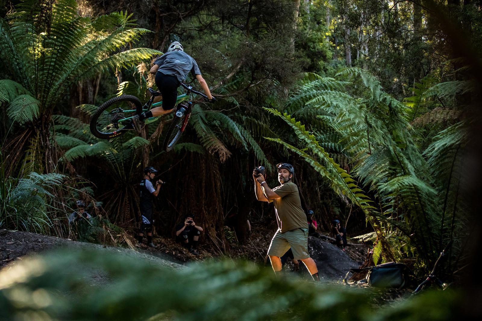 Sven is Easily Distracted - Officially Unsanctioned Enduro World Series Vertigo MTB / Moo Beer / Vital Whip-Off - Mountain Biking Pictures - Vital MTB