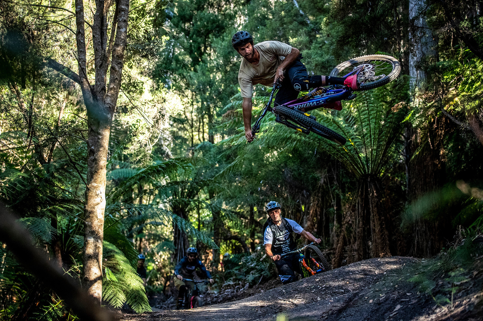 Dave McMillan - Officially Unsanctioned Enduro World Series Vertigo MTB / Moo Beer / Vital Whip-Off - Mountain Biking Pictures - Vital MTB