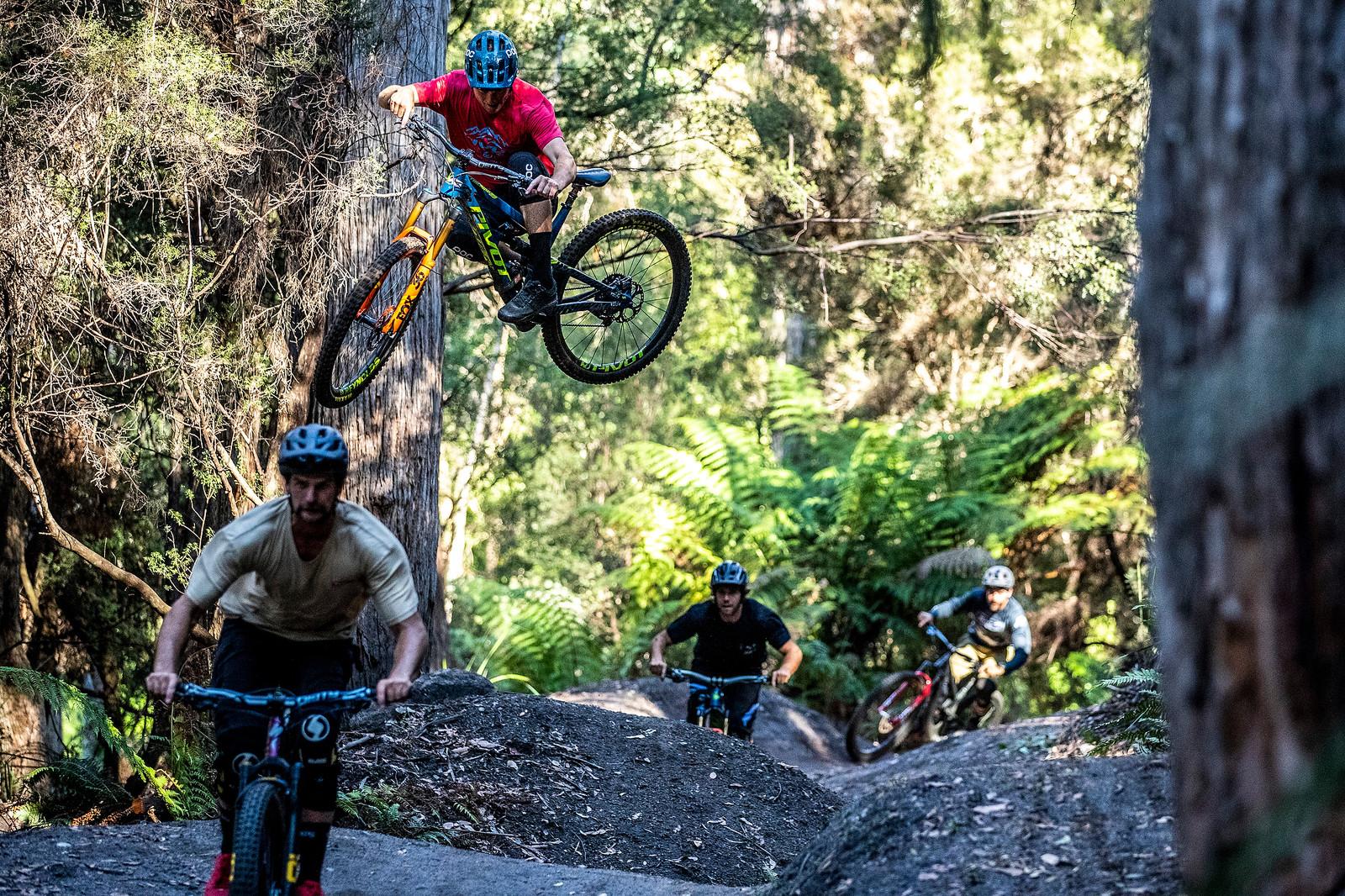 Head Tap - Officially Unsanctioned Enduro World Series Vertigo MTB / Moo Beer / Vital Whip-Off - Mountain Biking Pictures - Vital MTB