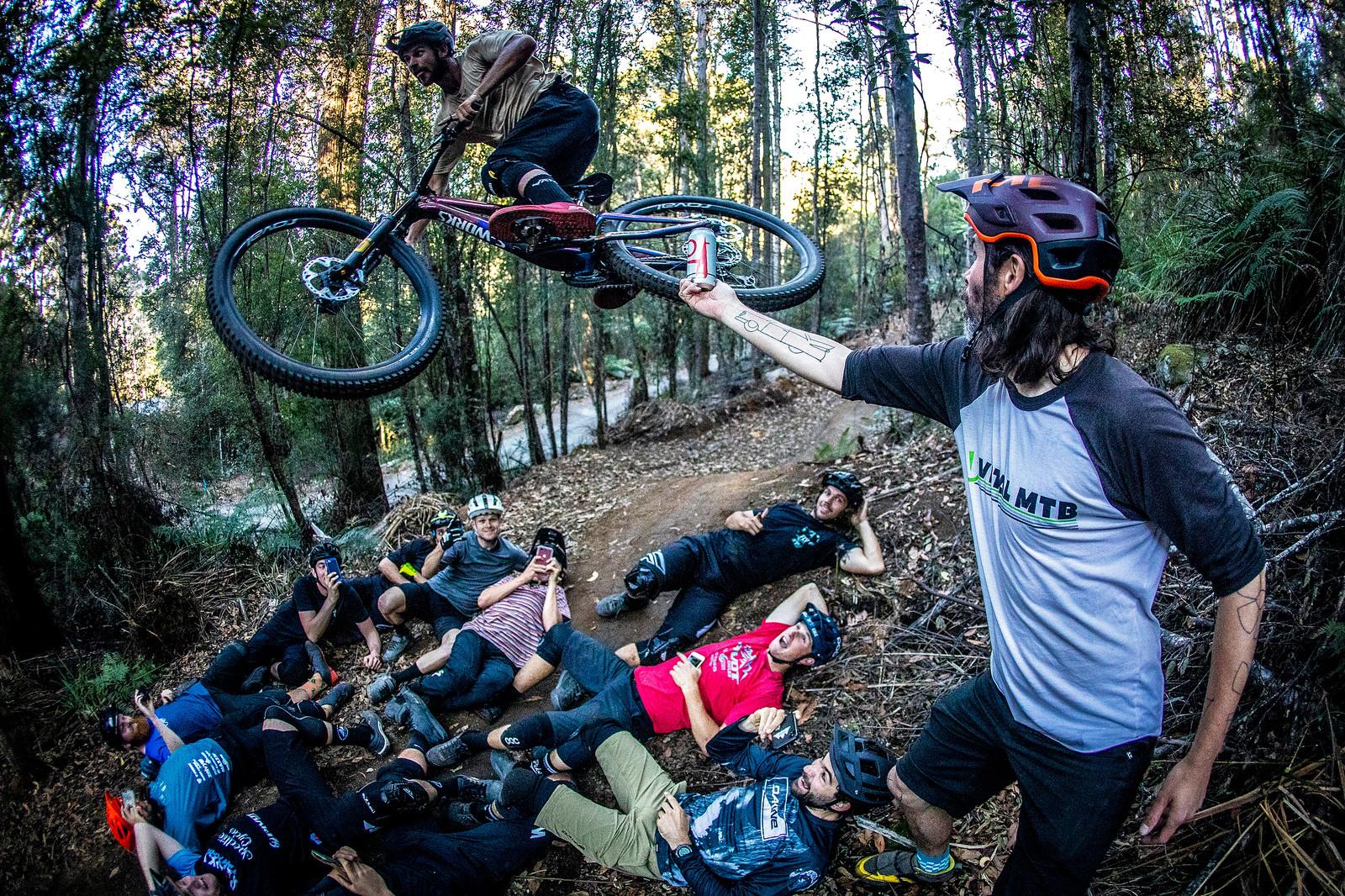 Officially Unsanctioned Enduro World Series Vertigo Bikes / Moo Beer / Vital Whip-Off - Officially Unsanctioned Enduro World Series Vertigo MTB / Moo Beer / Vital Whip-Off - Mountain Biking Pictures - Vital MTB