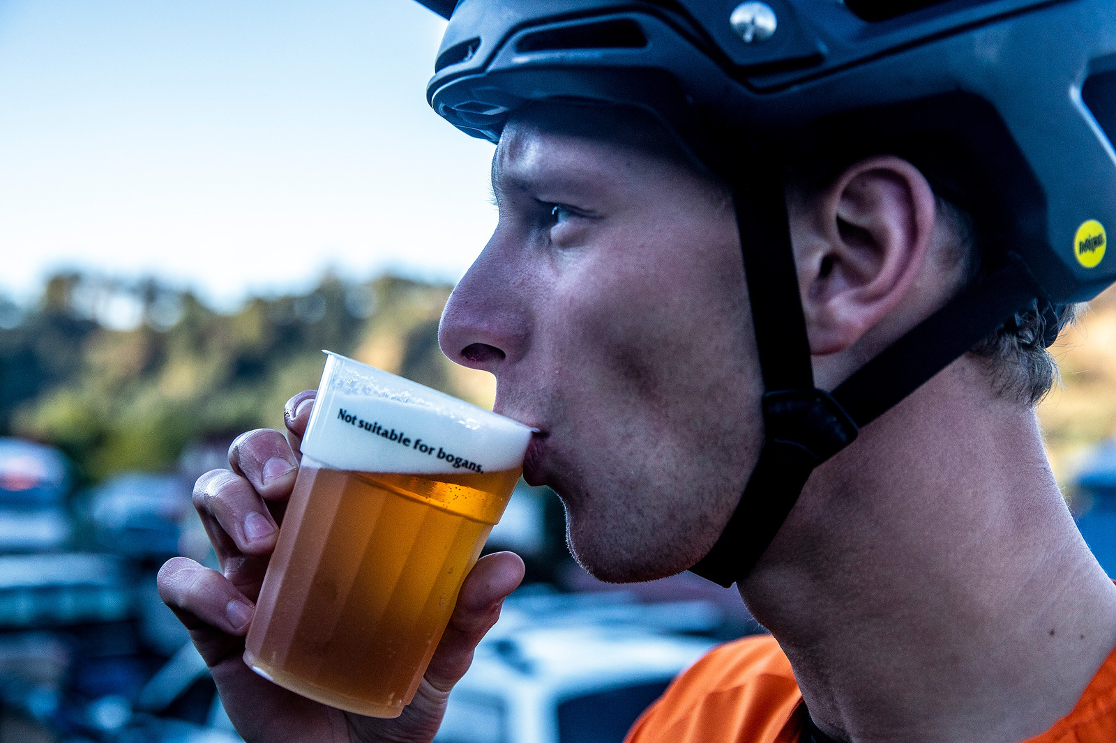 Maes Clearly Doesn't Care About the Rules - Officially Unsanctioned Enduro World Series Vertigo MTB / Moo Beer / Vital Whip-Off - Mountain Biking Pictures - Vital MTB