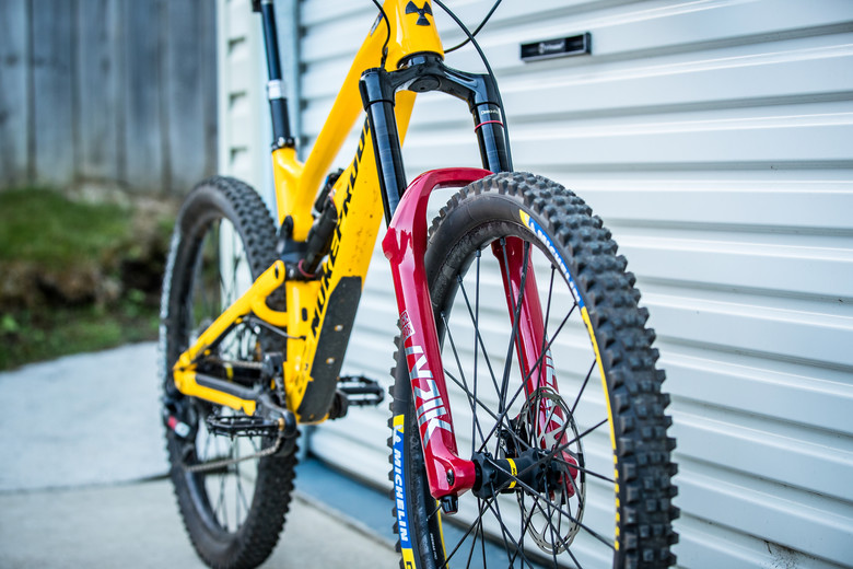 What's Stock, What's Not - Sam Hill's Nukeproof Mega for Tasmania