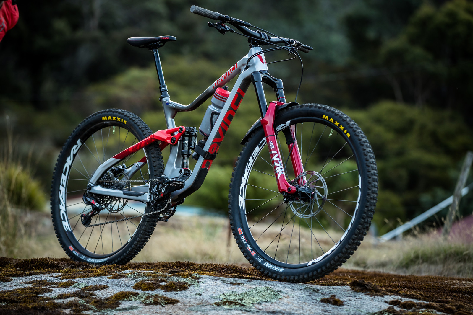 What's Stock, What's Not - Keegan Wright's Devinci Troy for Tasmania - What's Stock, What's Not - Tasmania Enduro World Series - Mountain Biking Pictures - Vital MTB