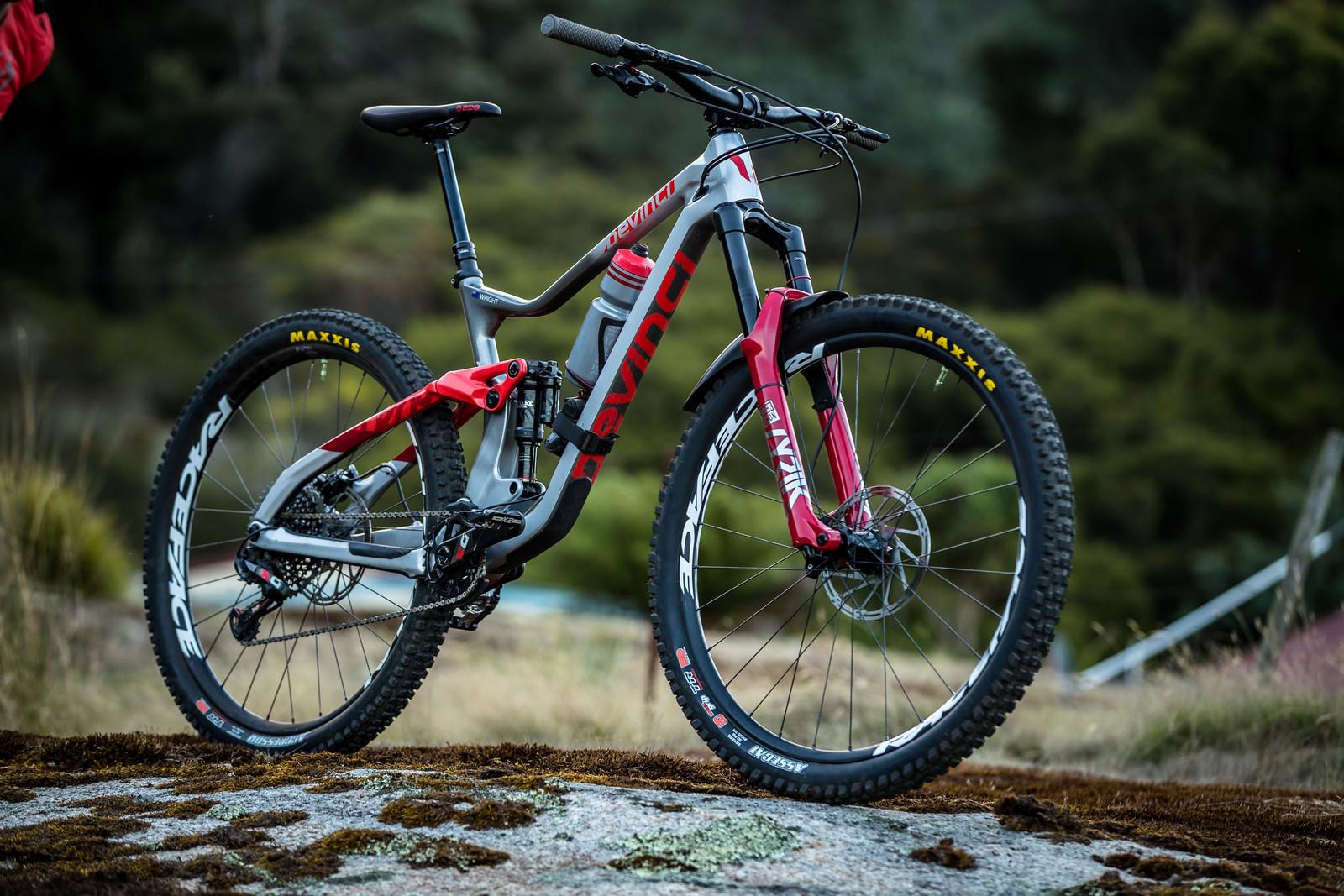What's Stock, What's Not - Keegan Wright's Devinci Troy for Tasmania - What's Stock, What's Not - Tasmania Enduro World Series - Mountain Biking Pictures - Vital MTB