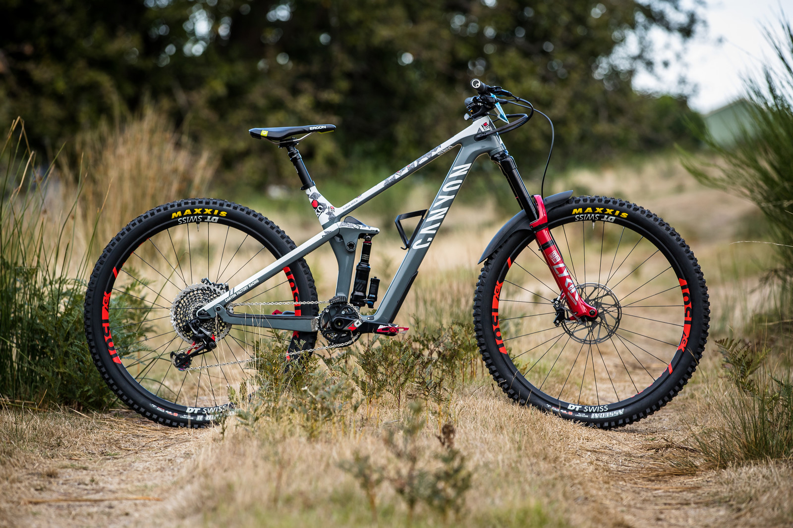 What's Stock, What's Not - Florian Nicolai's Canyon Strive 29 - What's Stock, What's Not - Tasmania Enduro World Series - Mountain Biking Pictures - Vital MTB