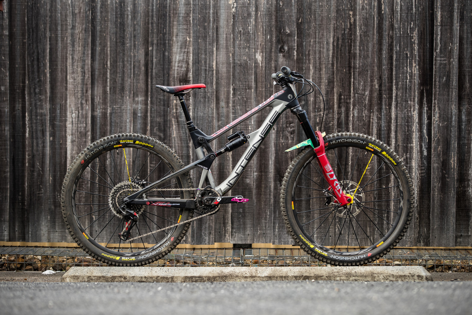 Isabeau Courdurier's Intense Tracer - What's Stock, What's Not - Tasmania Enduro World Series - Mountain Biking Pictures - Vital MTB