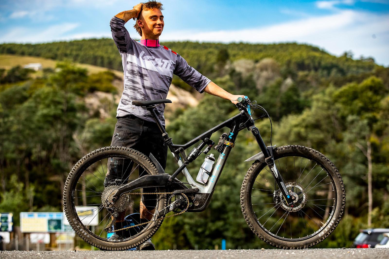 Matt Koen's Mount Vision - What's Stock, What's Not - Tasmania Enduro World Series - Mountain Biking Pictures - Vital MTB