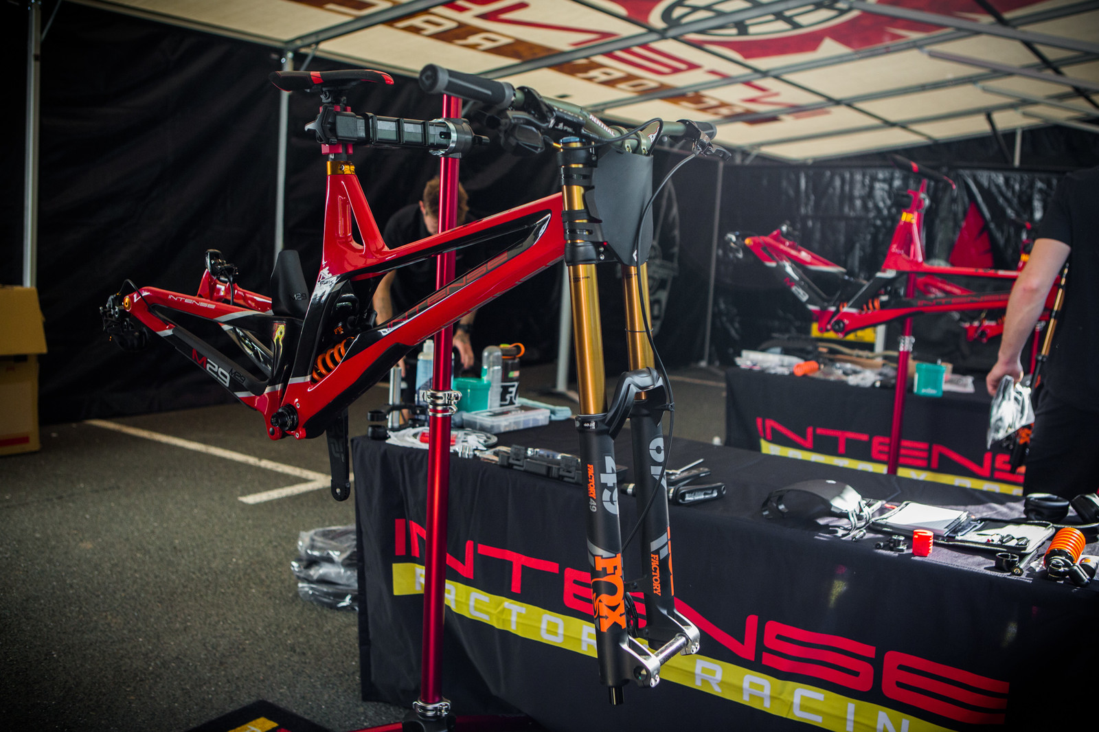 Aaron Gwin's Intense M29 - PIT BITS - iXS Cup Maribor - Mountain Biking Pictures - Vital MTB