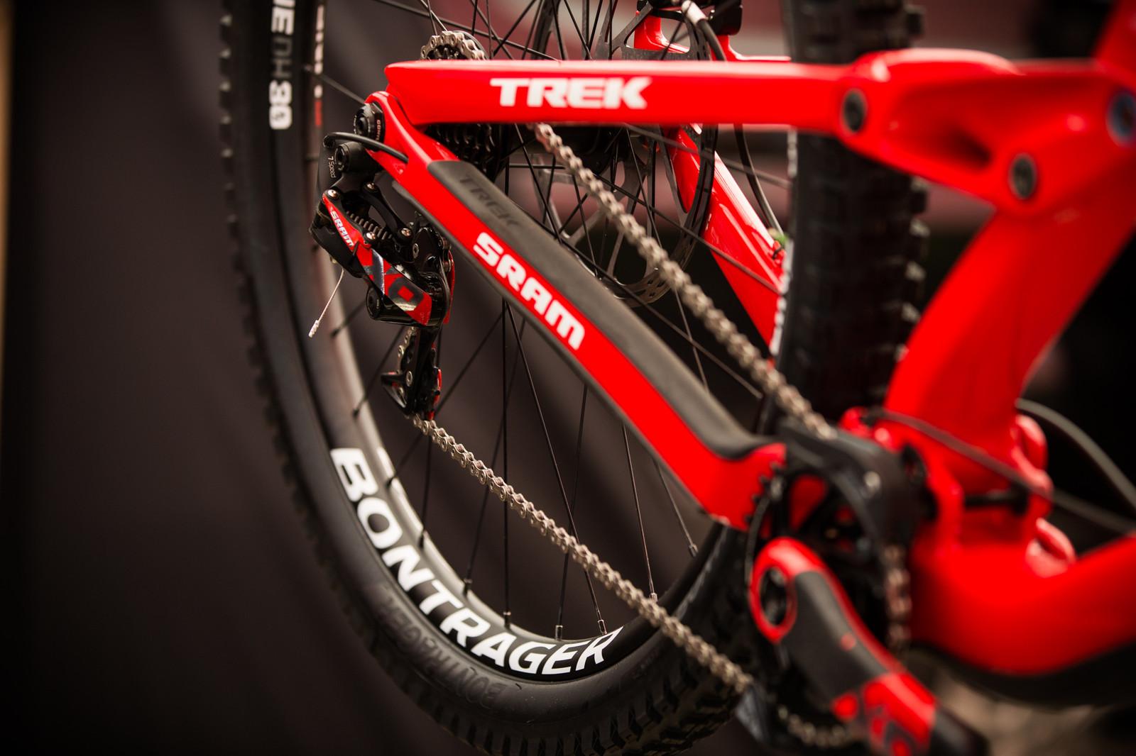 Trek Factory Racing's SRAM X0 DH Drivetrain - PIT BITS - iXS Cup Maribor - Mountain Biking Pictures - Vital MTB